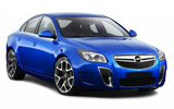 GOLDCAR Car rental St. Julians - Downtown Fullsize car - Opel Insignia