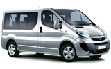 ALAMO Car rental Madrid - Chamartin - Train Station Van car - Opel Vivaro