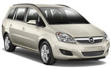 WHIZ Car rental Limassol City Van car - Opel Zafira