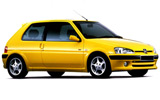 EUROPCAR Car rental Kourou Mini car - Peugeot 106