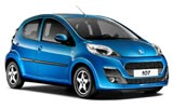 THRIFTY Car rental Knock - Airport Mini car - Peugeot 107