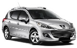 DISCOVERY Car rental Faro - Airport Standard car - Peugeot 207 Estate