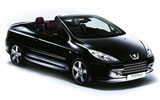 MACK Car rental Split - Airport Convertible car - Peugeot 307 Convertible