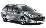 EUROPCAR Car rental Budapest - Downtown Standard car - Peugeot 307 Estate