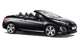 SICILY BY CAR Car rental Milan - Central Train Station Convertible car - Peugeot 308 Convertible