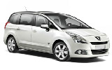 BUDGET Car rental Antalya - Airport Standard car - Peugeot 5008