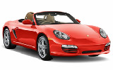 Rent Porsche Boxster Convertible
