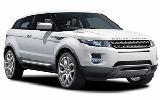 EUROPCAR Car rental Podgorica Airport Suv car - Range Rover Evoque