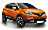BUDGET Car rental St. Julians - Downtown Economy car - Renault Captur