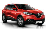 BUDGET Car rental Caserta - City Centre Suv car - Renault Kadjar