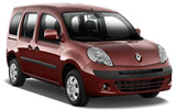 HERTZ Car rental Le Port Van car - Renault Kangoo
