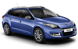 WINRENT Car rental Trento - City Centre Standard car - Renault Megane Estate