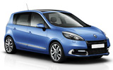 BUDGET Car rental Naples - Train Station Van car - Renault Scenic