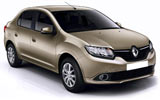 CIRCULAR Car rental Antalya - Domestic Airport Compact car - Renault Symbol