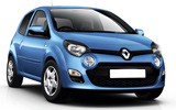 SIXT Car rental Lugano Downtown Mini car - Renault Twingo