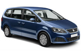 ATESA Car rental Badalona - City Van car - Seat Alhambra 7 Seater
