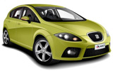BUDGET Car rental Ibiza - Airport Compact car - Seat Leon