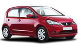 INTERRENT Car rental Puerto Del Carmen - Isla De Lobos - Hotel Deliveries Mini car - Seat Mii