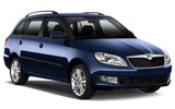 RHODIUM Car rental Gozo Mgarr Harbour Terminal Standard car - Skoda Fabia Estate