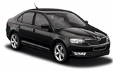 BUDGET Car rental Skopje Compact car - Skoda Rapid