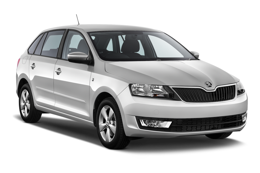 INTERRENT Car rental Klaipeda Downtown Compact car - Skoda Rapid Spaceback