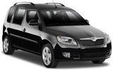 EUROPCAR Car rental Lugano Downtown Van car - Skoda Roomster