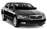 SIXT Car rental Budapest - Airport Standard car - Skoda Superb