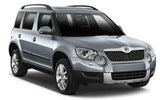 EUROPCAR Car rental Stockholm City Suv car - Skoda Yeti