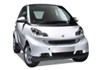 DAPERTON Car rental Madrid - Retiro Mini car - Smart Fortwo