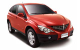 DOLLAR Car rental Head Office Amman Airport Road Suv car - Ssangyong Actyon