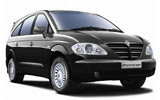 ALAMO Car rental Porto - Airport Van car - SsangYong Rodius