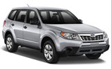 SIXT Car rental Cairo - Downtown Suv car - Subaru Forester