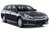 SIXT Car rental Zamalek Downtown Luxury car - Subaru Legacy
