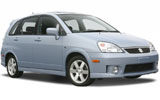 PAYLESS Car rental San Jose - City Centre Compact car - Suzuki Aerio