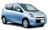 BUDGET Car rental Tel Aviv - Downtown Mini car - Suzuki Alto