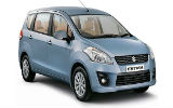 AVIS Car rental Pune Downtown Van car - Suzuki Ertiga