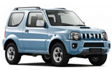 BUDGET Car rental Reykjavik - Keflavik International Airport Suv car - Suzuki Jimny