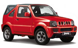 GREEN MOTION Car rental Corfu - New Port Suv car - Suzuki Jimny Convertible