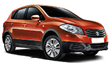 ALAMO Car rental Sofia - Airport Suv car - Suzuki S-Cross