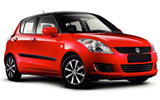 SIXT Car rental Santiago - Sheraton Economy car - Suzuki Swift