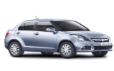 BUDGET Car rental Muscat - Downtown Economy car - Suzuki Swift Dzire