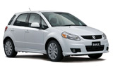 BUDGET Car rental Vagar Airport Suv car - Suzuki SX4