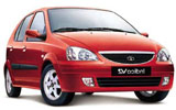 S.S.TRAVELS Car rental New Delhi Indira Gandhi Airport - Terminal 1 Economy car - Tata Indica