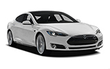 TOP Car rental Santa Marina Fullsize car - Tesla Model S Performance