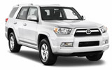 SIXT Car rental Santiago - Sheraton Van car - Toyota  4 Runner
