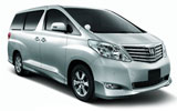 AVIS Car rental Changi Airport - T2 Van car - Toyota Alphard