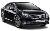 BUDGET Car rental Galway - City Standard car - Toyota Avensis