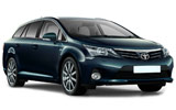 BUDGET Car rental Mo I Rana Standard car - Toyota Avensis Estate