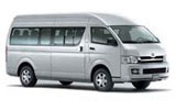 THRIFTY Car rental Napier - Airport Van car - Toyota Commuter