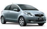 LETZ RENT A CAR Car rental Auckland - Downtown Mini car - Toyota Echo